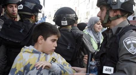 Israel Detains 357 Palestinians, Including 48 Children