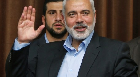 Hamas Chief, Jordan King Talk Palestine Reconciliation