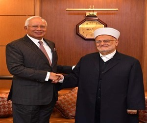 PM Najib Receives Courtesy Call From Al-Aqsa Mosque Imam