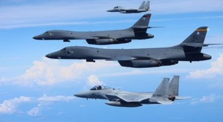 US Bombers Hold Drill against North Korea
