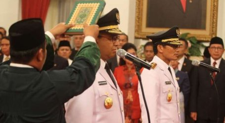 Anies Baswedan Innaugurated As Jakarta Governor