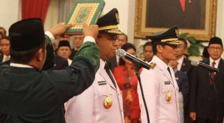 Anies Baswedan Innaugurated As Jakarta Governor