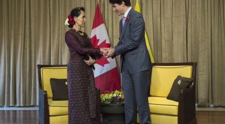 Trudeau, Suu Kyi Hold Face-to-Face on Rohingya Crisis