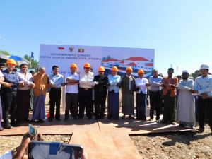 Indonesian Hospital Unites Various Ethnicities in Rakhine State, Myanmar
