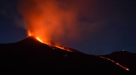 The Agung Volcano on Bali Erupted Again