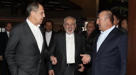 Turkish, Russian and Iranian Foreign Ministers Meet in Antalya