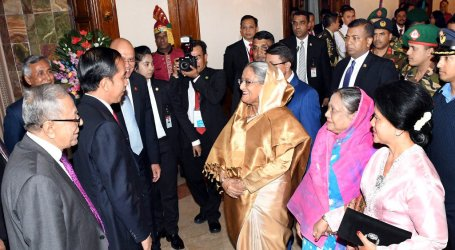 President Hamid Seeks Indonesia's Support for Safe Rohingya Return