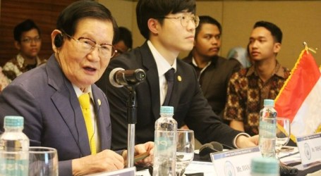 Chairman of the HWPL Peace Agency from Korea Visits Indonesia