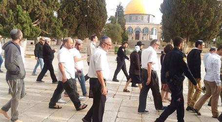 Israeli Break-ins to Al-Aqsa Mosque Increased by 75%