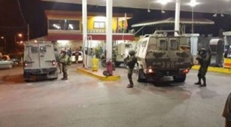 IOF Seizes CCTV Recordings From Gas Station in Tulkarem