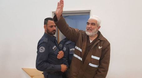 Israeli Court Declines Appeals to Release Raed Salah from Jail