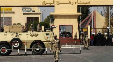 Egypt to Open Rafah Crossing with Gaza for 4 Days