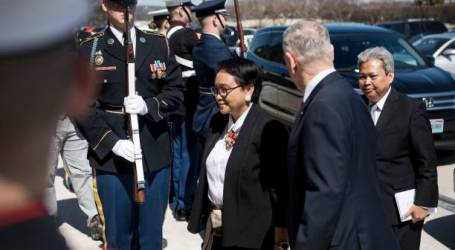 Mattis Welcomes Indonesia's Foreign Minister to Pentagon