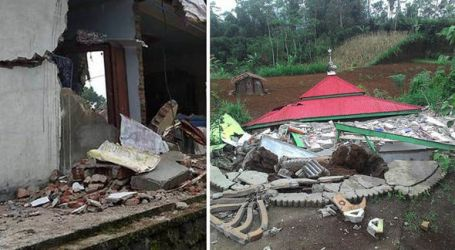 Devastating Indonesia Earthquake Kills 3 and Damages Hundreds of Homes