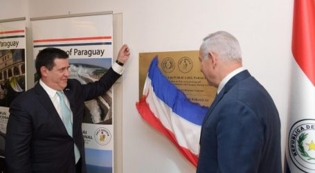 Paraguay Opens its Embassy in Occupied Jerusalem