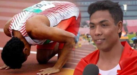 Zohri Wins Silver Medal and Breaks National Record