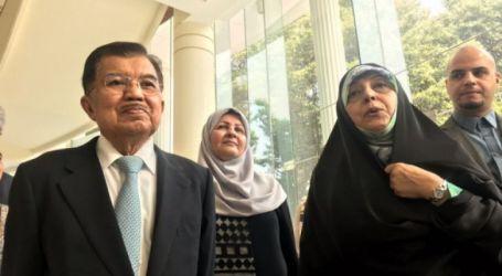 Kalla Receives Iranian Counterpart
