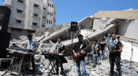 Rights groups Believe Israeli Bombing of Gaza Cultural Center Is War Crime