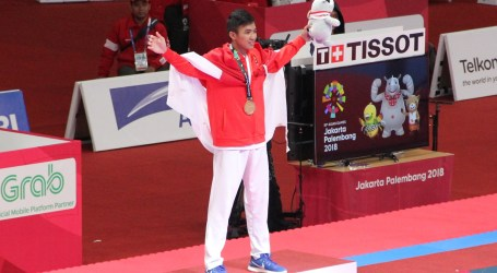 Indonesian Karateka Wins Gold in Men's Kumite -60kg