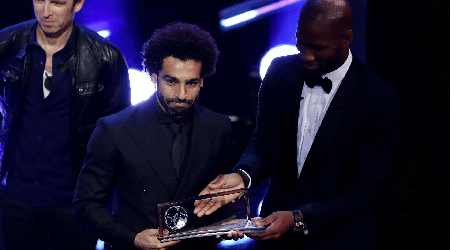 Mohamed Salah and N'Golo Kante Won 2018 FIFA Award
