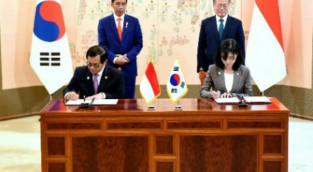 Indonesia-South Korea Sign Six MoUs