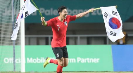 South Korean Wins Gold Medal in Soccer, Players Earn Military Exemption