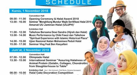 Indonesia Increases the Role of SMEs through INDHEX Halal 2018