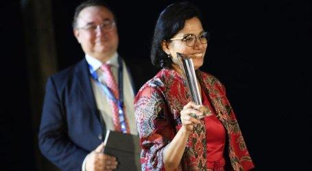 IMF-WB – Sri Mulyani Receives Best Finance Minister Award