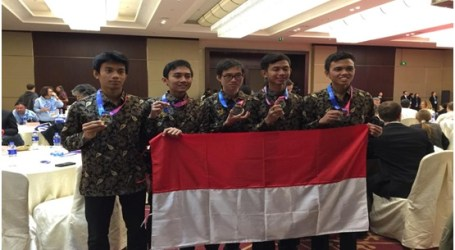 Indonesia Wins Gold Medal at Astronomy and Astrophysics Olympics in Beijing