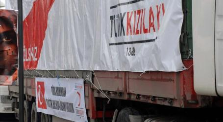 Turkish Red Crescent Sends 8.5 Tons of Medicine to Gaza
