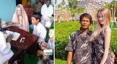 Indonesian Man Breaks The Internet After Marrying English Woman
