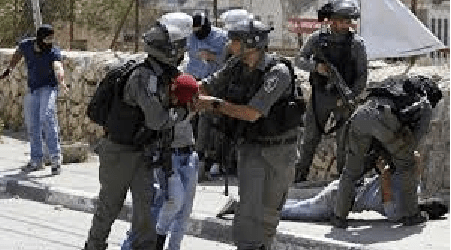 Israeli Soldiers Arrest and Persecute Palestinian A Youth