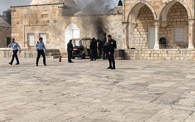 Israeli Police Reopen Al-Aqsa Complex on Wednesday
