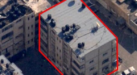 "Israeli Military Claim Targets a ""Secret Headquarters"" of Hamas in Gaza"