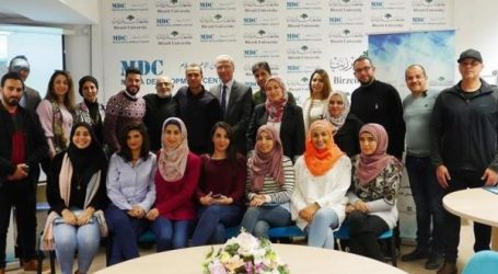 Palestinian Election Commission Holds Journalist Training