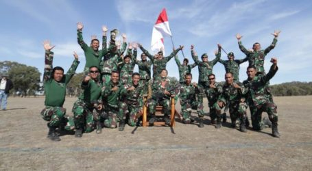 12th Times, Indonesia Army Win AASAM Shooting Competition in Australia