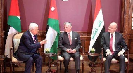 Iraqi President Meets King of Jordan Discussing Palestine