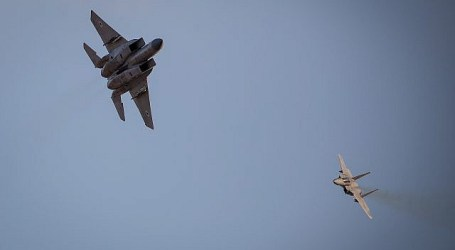 Israeli Jets Attack Hamas Post Killing Two Palestinians