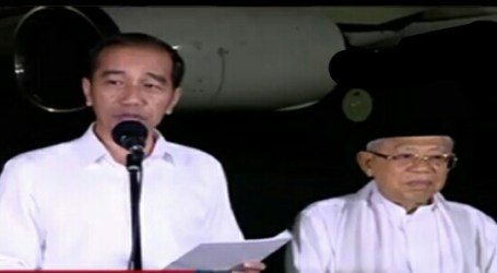 Jokowi-Ma'ruf Make Statement after Constitutional Court's Decision