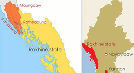 Myanmar Govt Cut off Internet Access in Northern Rakhine