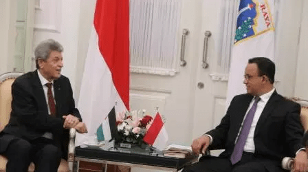 Anies-Zuhair Discusses Jakarta-Palestine Economic Relation