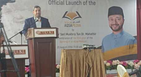 Malaysian NGO Launces Aqsapedia.net