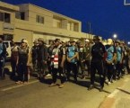 "Indonesian Hospital Volunteers in Palestine Hold Long March ""Ghazwah Fath Al-Aqsa"""