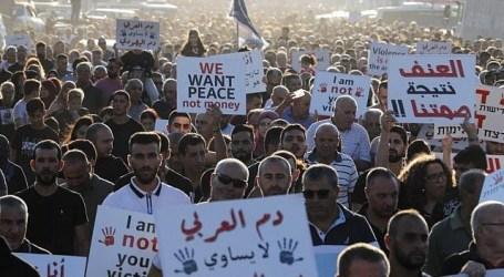 20,000 Israeli Arabs Protest Violence on Minorities