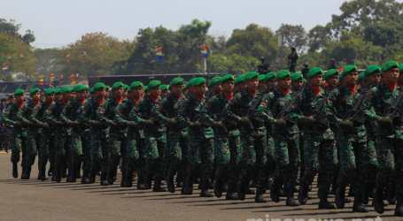 Indonesian Military TNI Celebrates 74th Anniversary at Halim Air Base