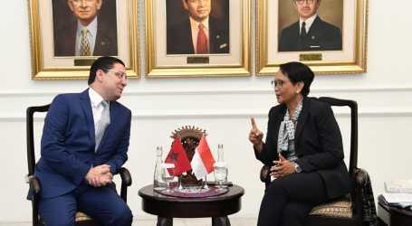 Indonesian, Maroccan FM Discuss Palestinian Issue