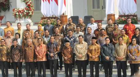 President Jokowi Announces His Cabinet Ministers