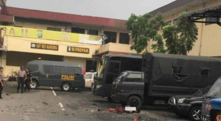 A Bomb Exploded at Police Headquarters in Medan