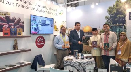 Imaam Yakhsyallah Invites Indonesians to Support Palestinian by Buying its Products