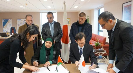 Japan Signs Grant Contracts for Four GGP Projects in Palestine